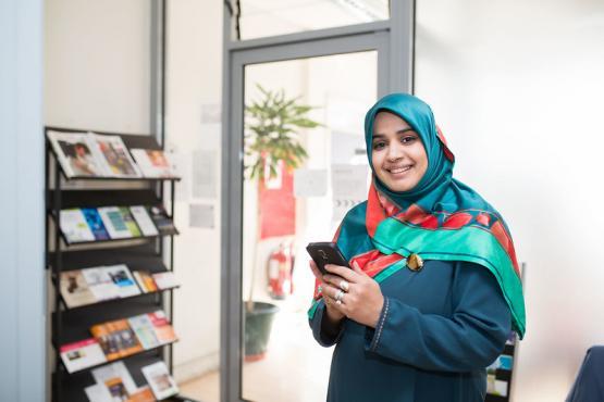 Image of volunteer