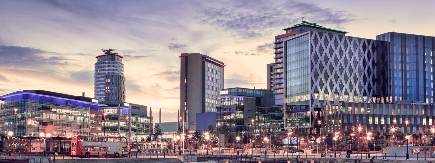 A photo of Media City